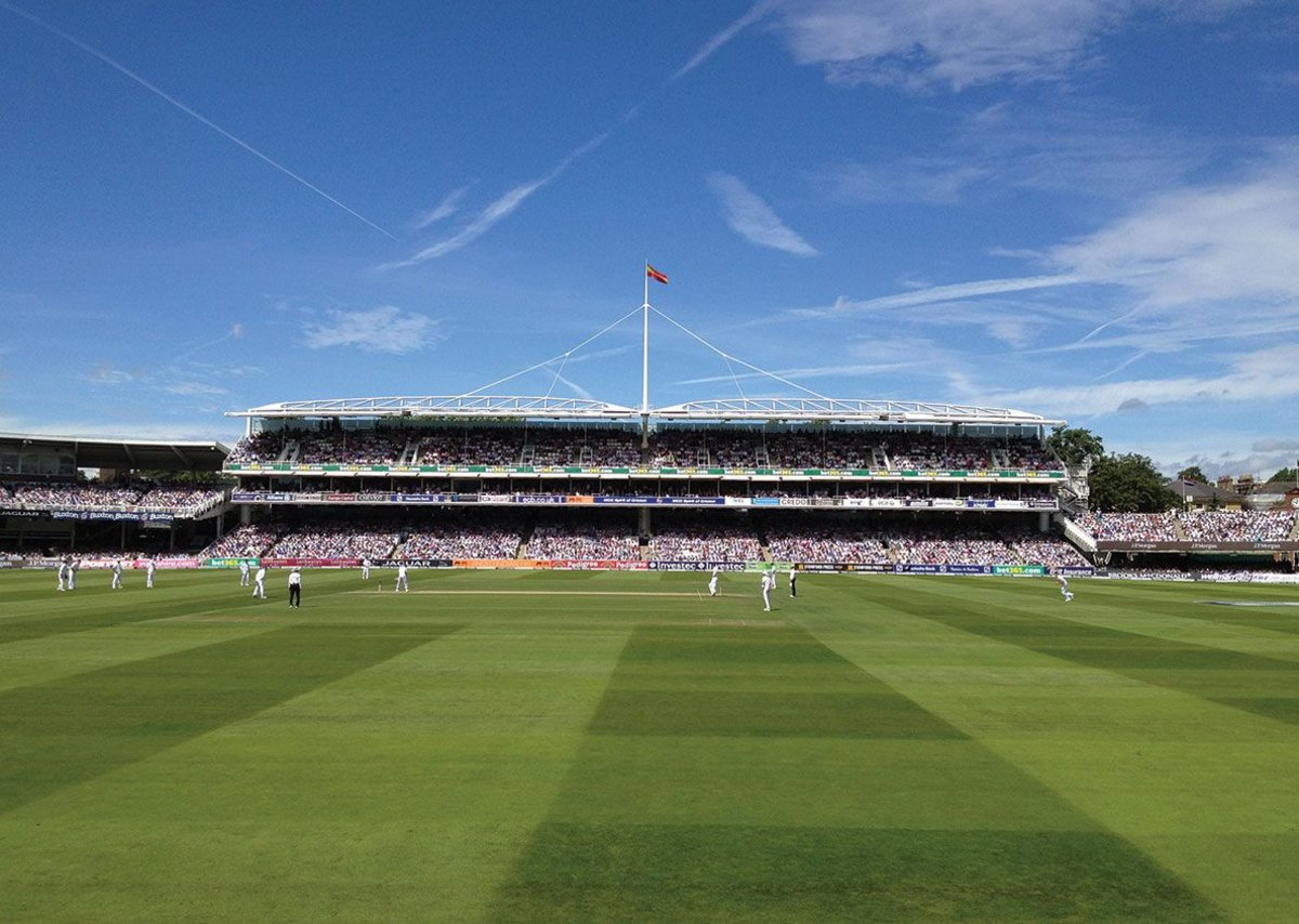 Lord's Grand Stand, London, United Kingdom.