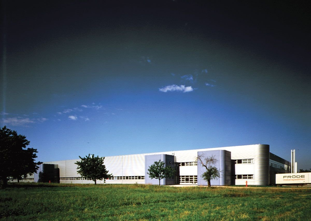 1981: Vitra Furniture Factory, Weil am Rhein, Germany.
