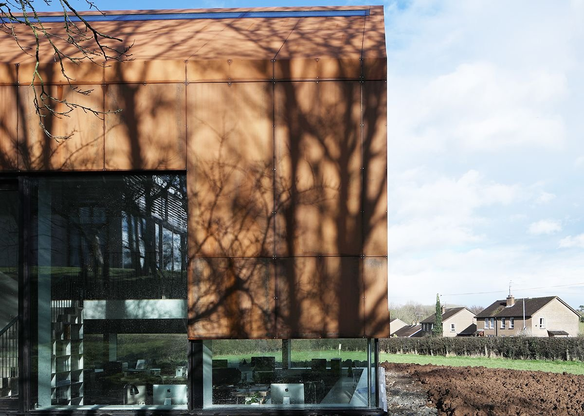 Fallahogey Studio, Kilrea by McGarry Moon Architects.