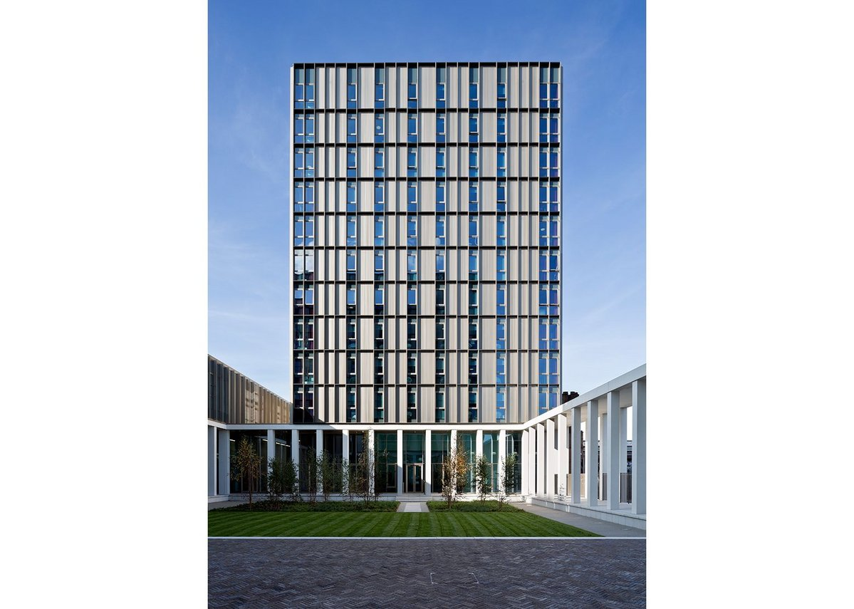 City of Glasgow College by Michael Laird Architects & Reiach and Hall Architects
