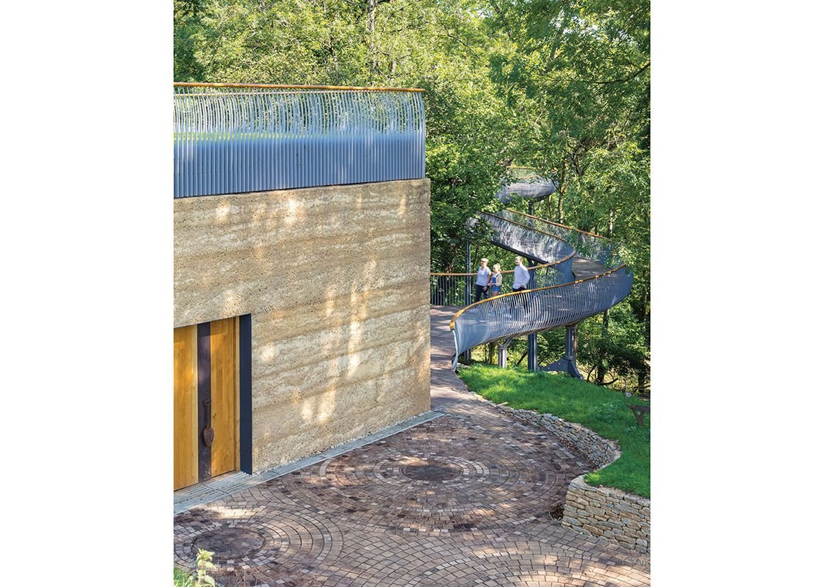 When the museum and walkway were brought together, the logic of both as part of the garden journey became apparent