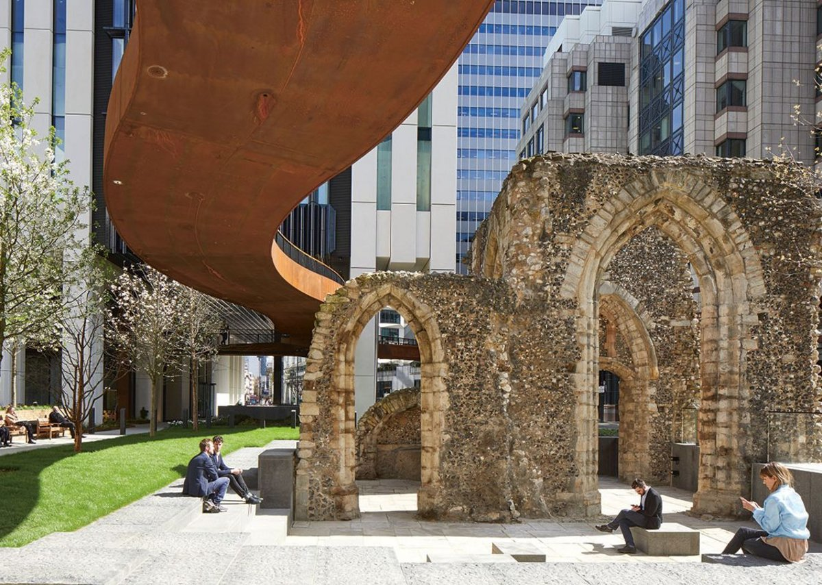 London Wall Place, City of London.