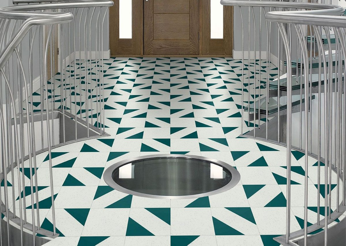 The new 'Mosaic' laying design from Amtico's new Architects' Choice collection