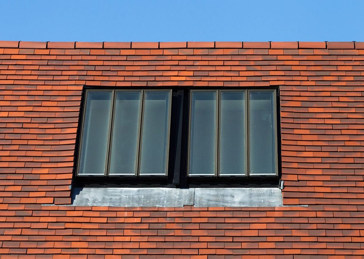 Conservation Rooflights at a Felixstowe new-build. Architect Robert Allerton.