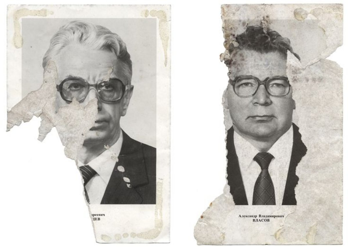 Eric Lusito, Portraits of Politburo members, from Traces of the Soviet Empire series, 2009