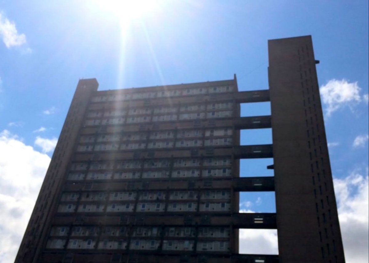 Rab Harling, still from Inversion/Reflection: What Does Balfron Tower Mean To You?, 2014.