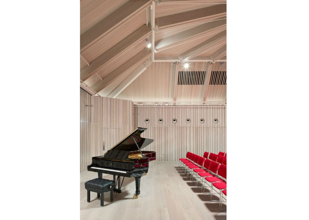Royal Academy of Music – The Susie Sainsbury Theatre and Angela Burgess Recital Hall, Marylebone.