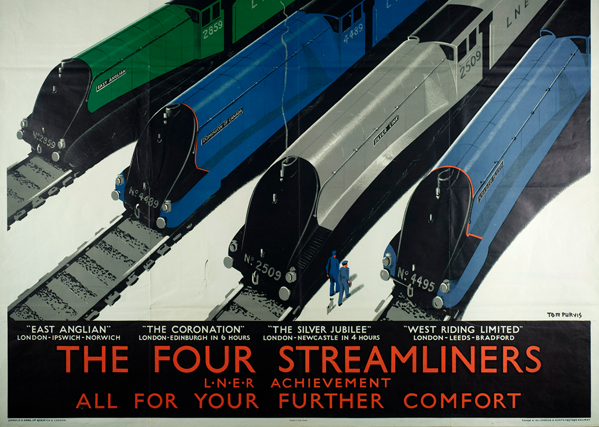 The Four Streamliners by Jarrold and Sons limited.