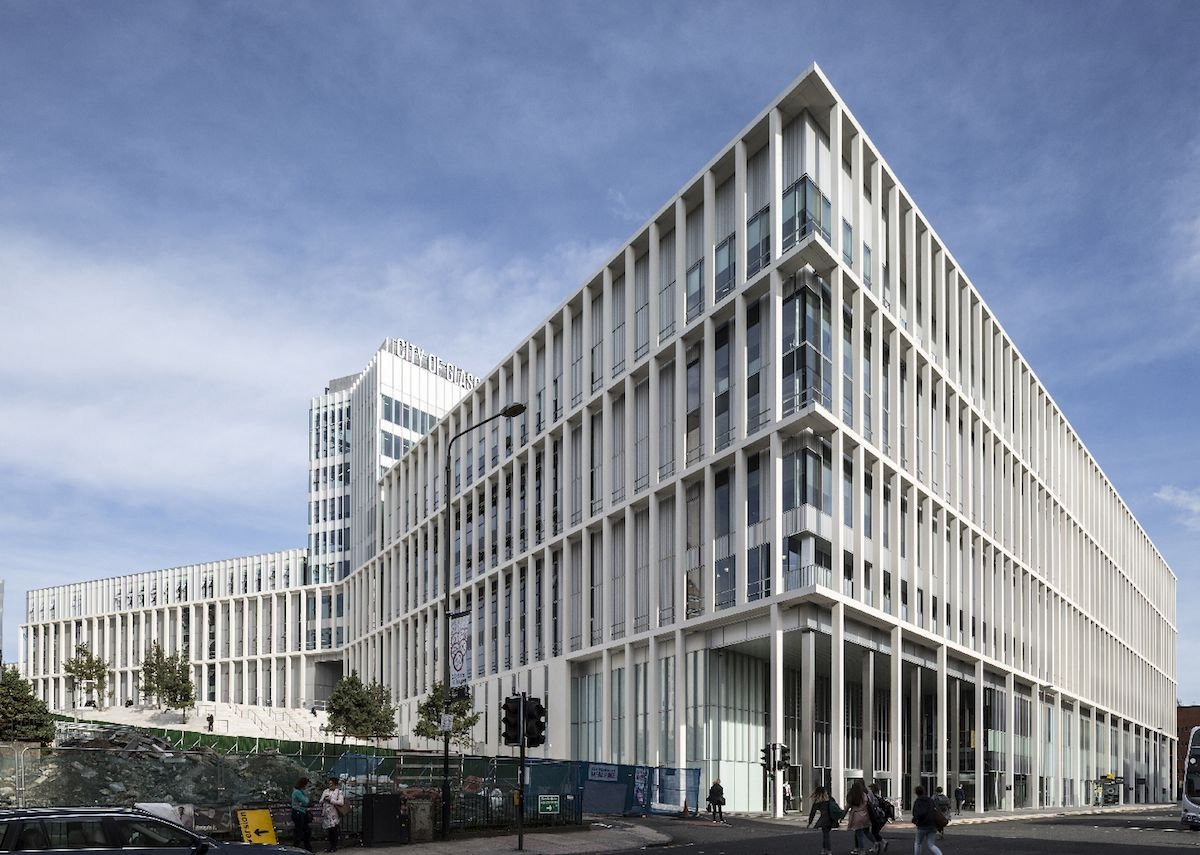 City of Glasgow College by Reiach & Hall and Michael Laird Architects.