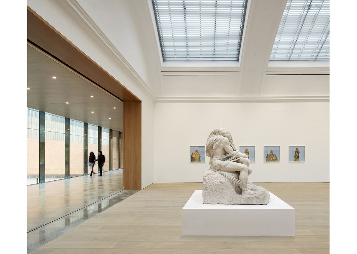 The Distance (A Kiss with String Attached) – Cornelia Parker's take on Rodin.