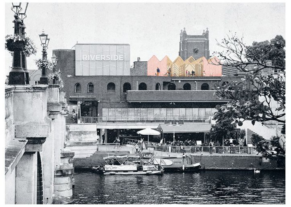 The refuge is proposed for the top of Bishop's Palace House on the banks of the River Thames in Kingston.