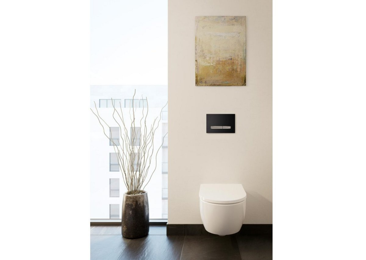 The iCon bathroom series is part of Geberit's newly named Aspire Collection.
