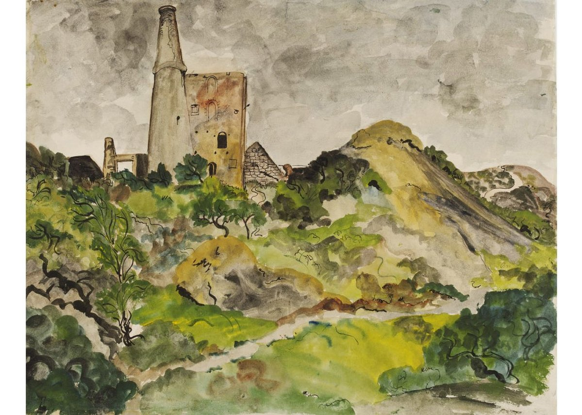 Olive Cook, Disused Tin Mine, St Agnes, Cornwall, c 1940. Given by the Pilgrim Trust.