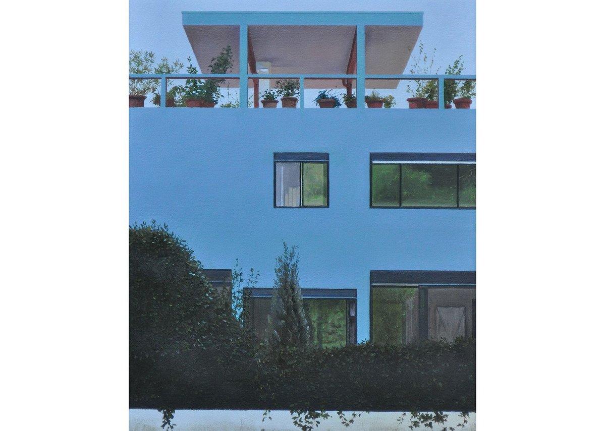 Le Toit-Jardin – Corbusian modernist roof garden.