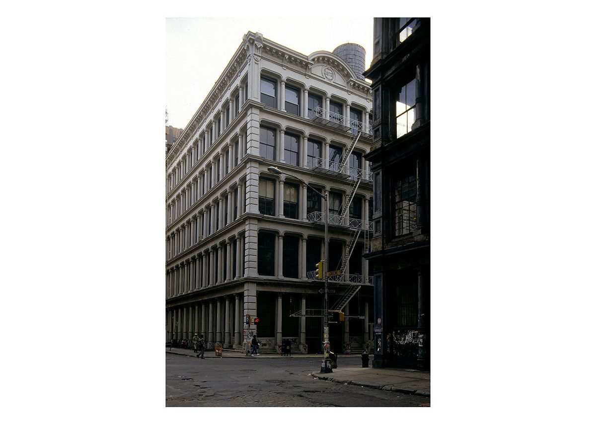 Building on Greene Street NYC in the SoHo Cast Iron Historic District that Gayle was instrumental preserving.