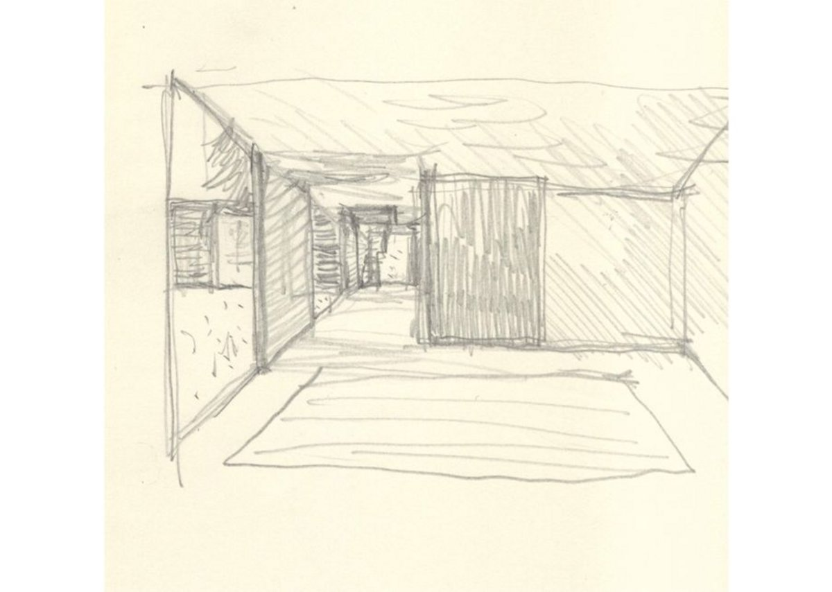 Drawing of Maggie's, SE Wales by Dow Jones Architects.