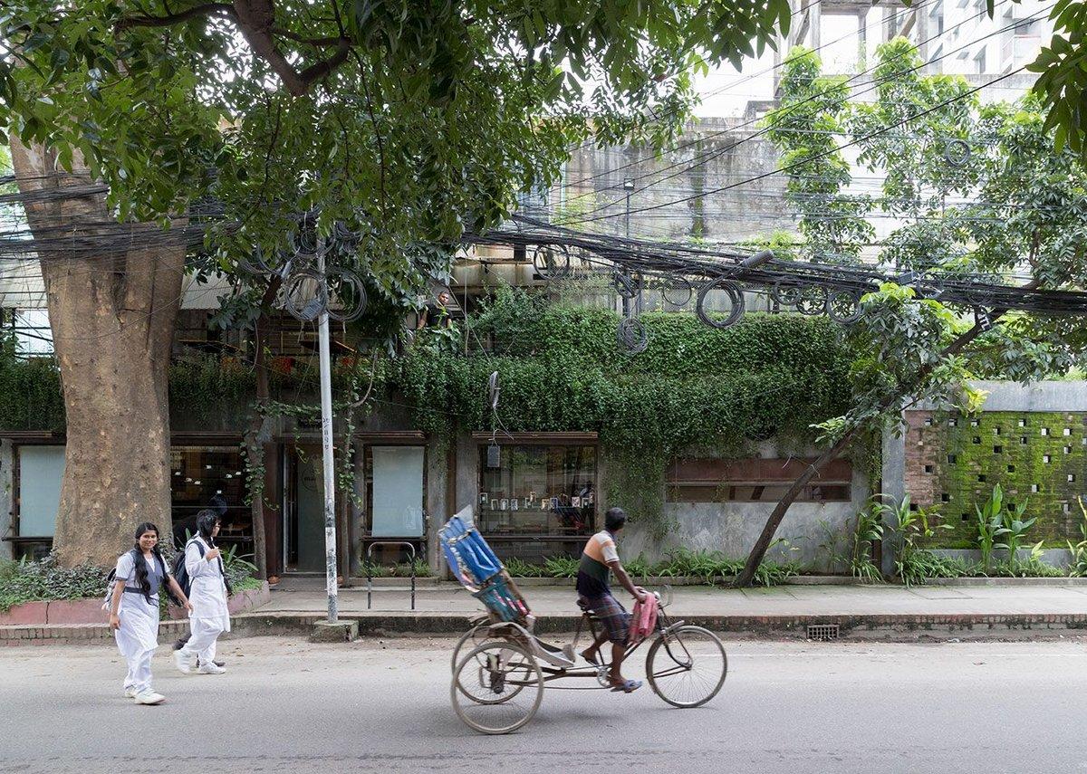 Café Mango, Dhanmondi, Dhaka. Architect: Atelier Robin / Salauddin Ahmed.