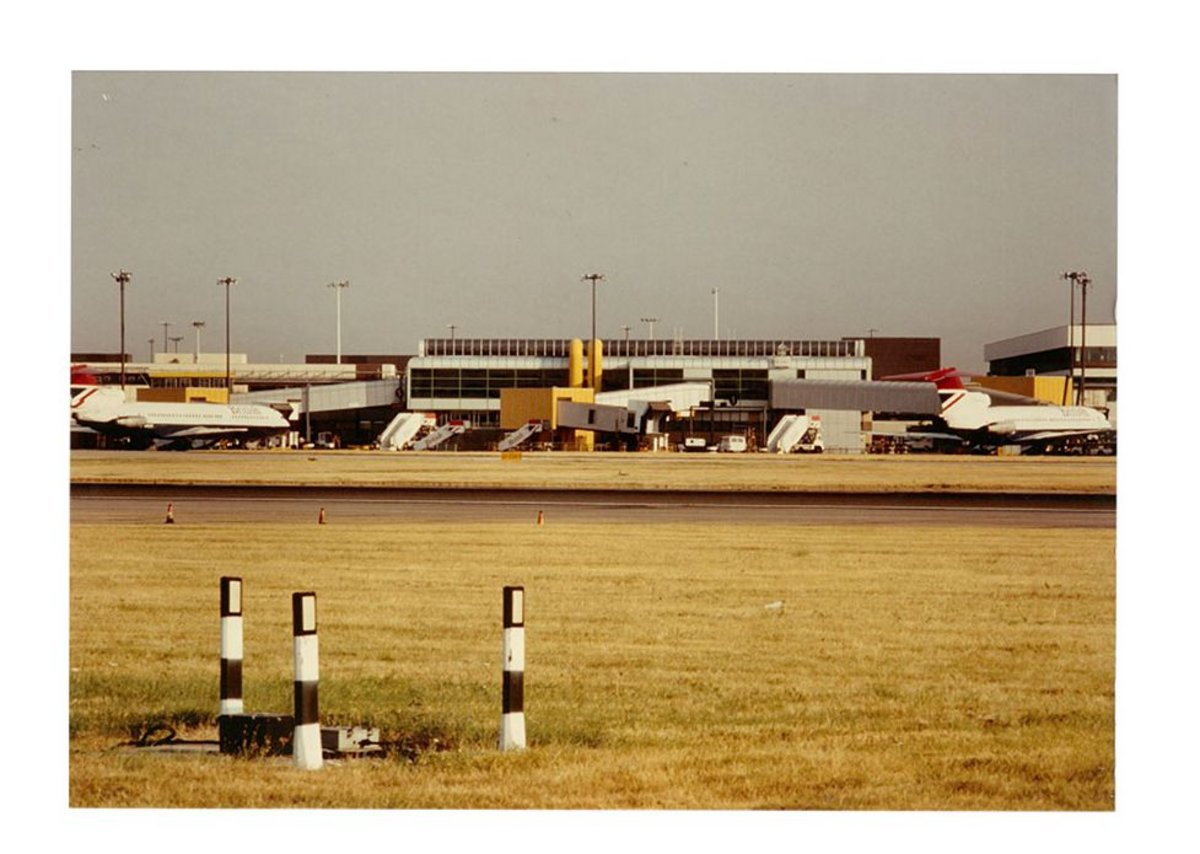 A later BDP job by Kit Evans was the domestic shuttle terminal at Heathrow, a high-tech exercise.