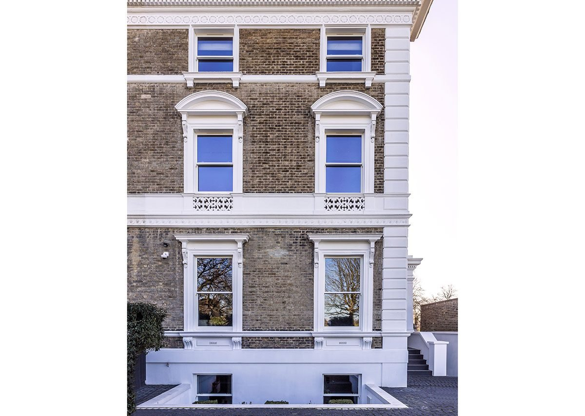 Lomax + Wood high performance, made-to-order timber box cords and weights sash windows, Blackheath, London.