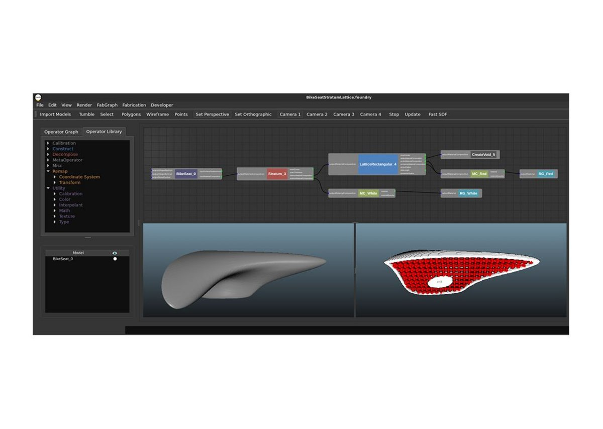 Foundry interface.