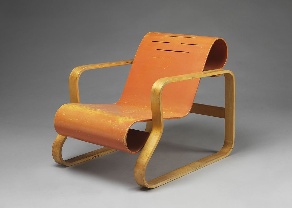 Alvar Aalto, armchair, Finland, 1930 © Alvar Aalto Museum.