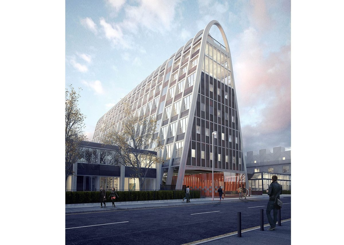 Sixtwo has been appointed to refurbish Manchester University's Hollings Campus (Toast Rack) building.