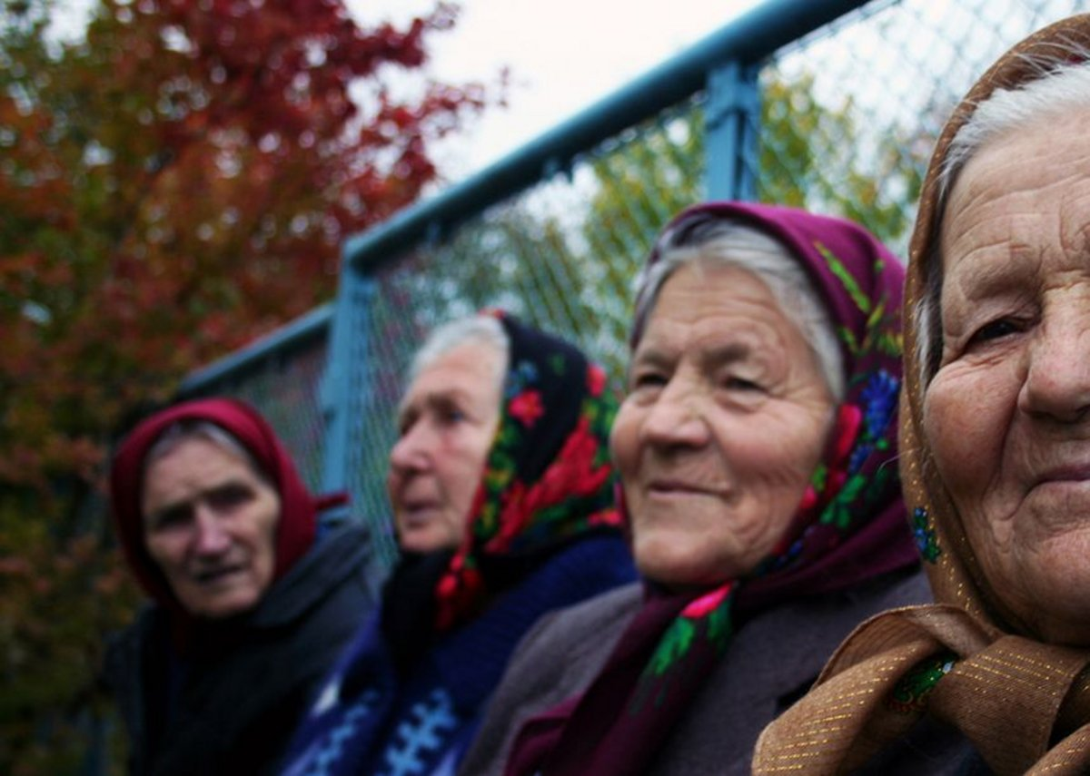 The babushkas features in The Babushkas of Chernobyl.