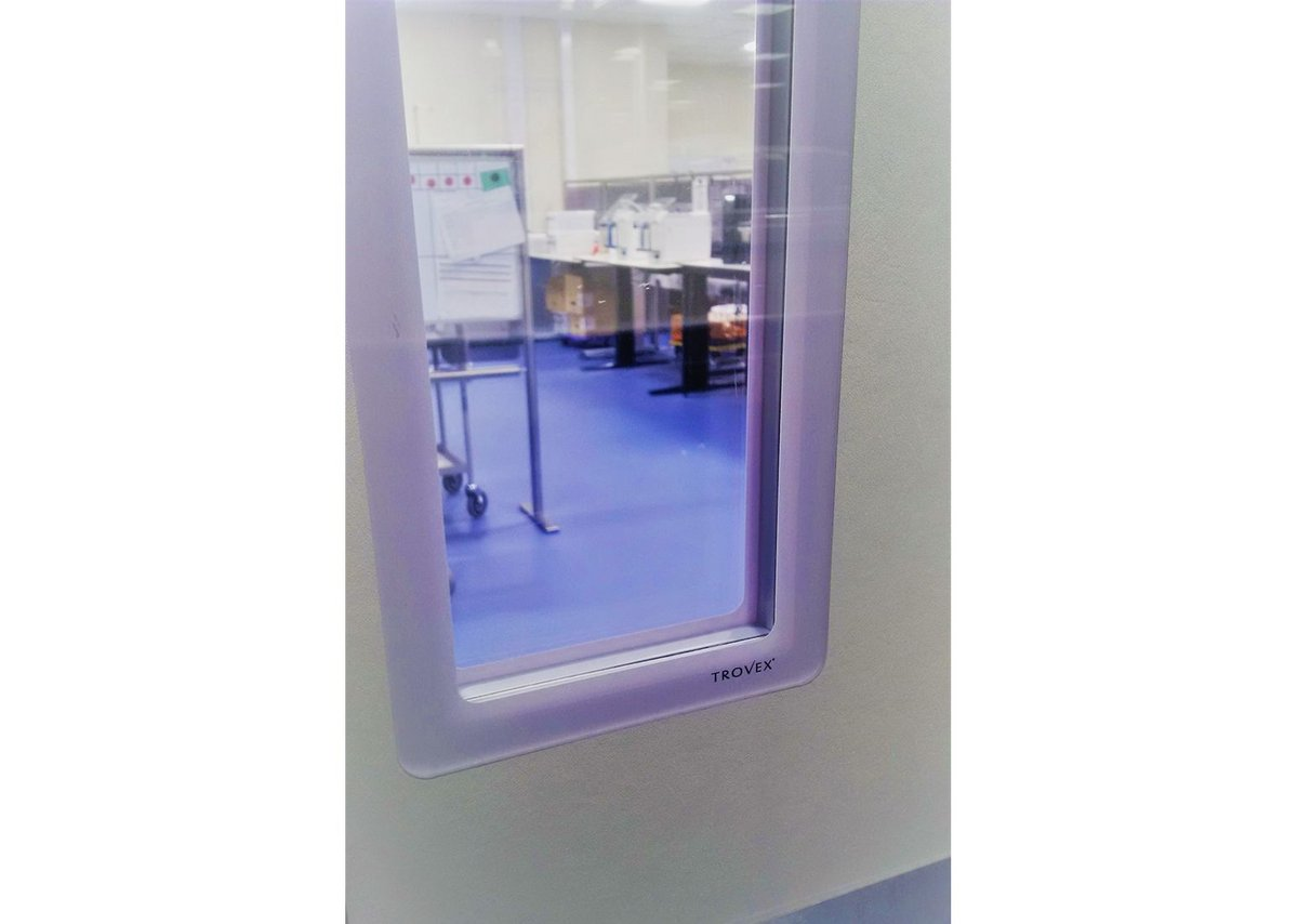 Hygidoor Tuff at NHS Blood Transplant in Manchester