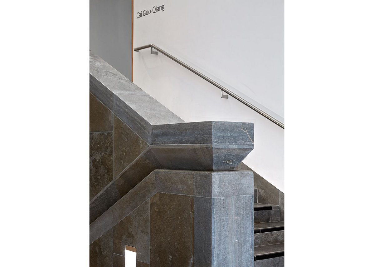 A sense of the chisel in the stair detail.