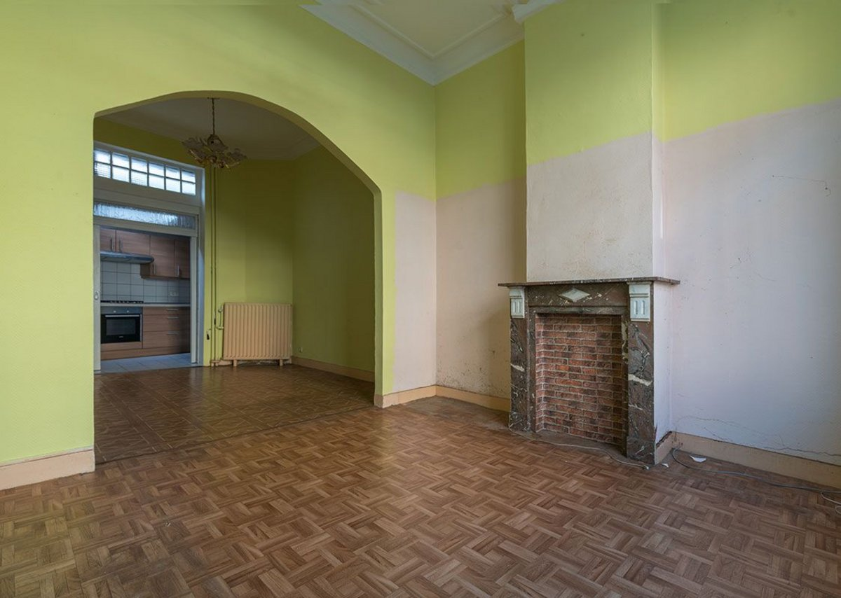 The ground floor before the renovation.
