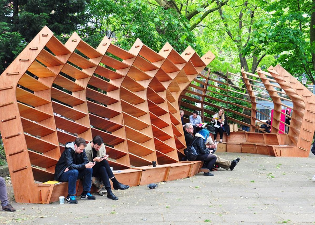 Future of Design pavilion at Clerkenwell Design Week.