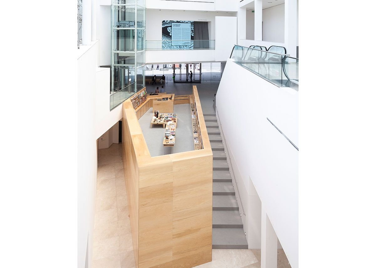 Neolith Sintered Stone's versatility - it can be used as high-traffic flooring, on walls and for worktops - made it a perfect fit for the MALBA project.