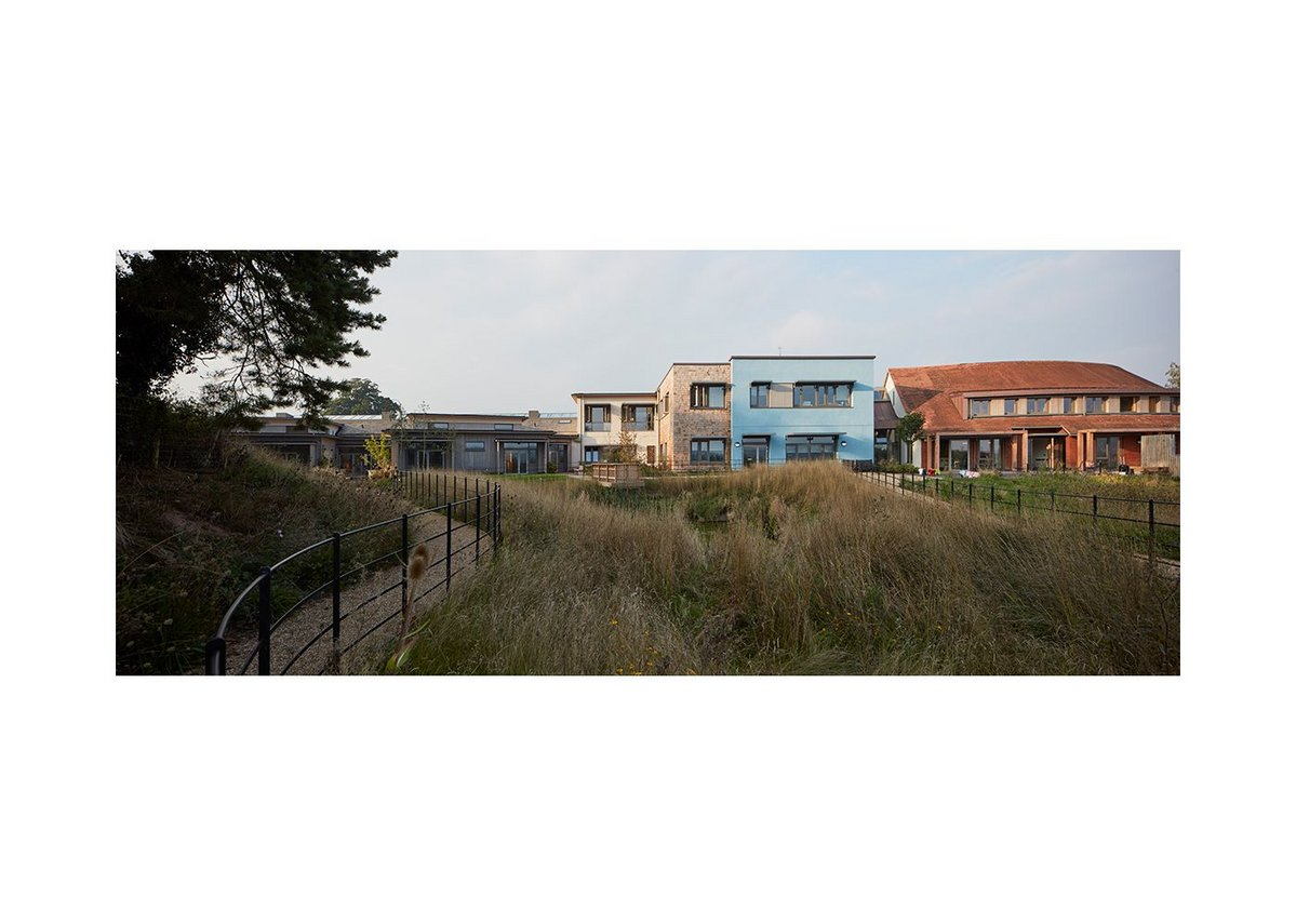 A looping accessible path around the site means there is a short and manageable walk for those staying at the hospice.