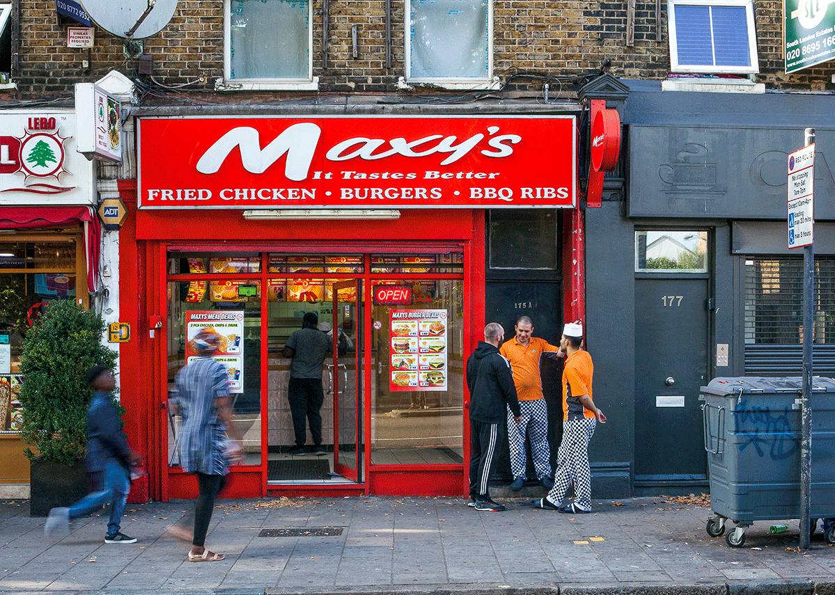 Maxy's, Elephant and Castle.
