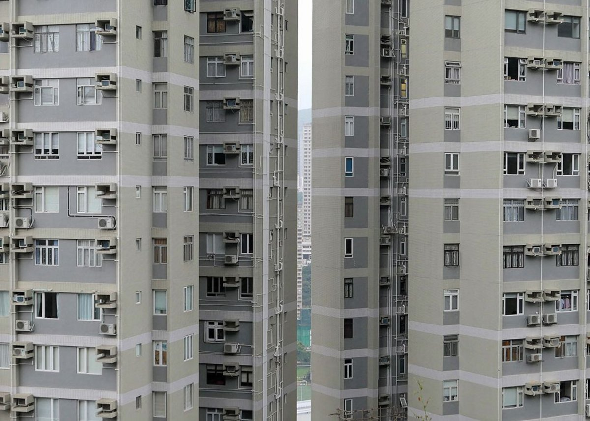 This is how the more affluent live – these apartments in Happy Valley are sizeable by HK standards.