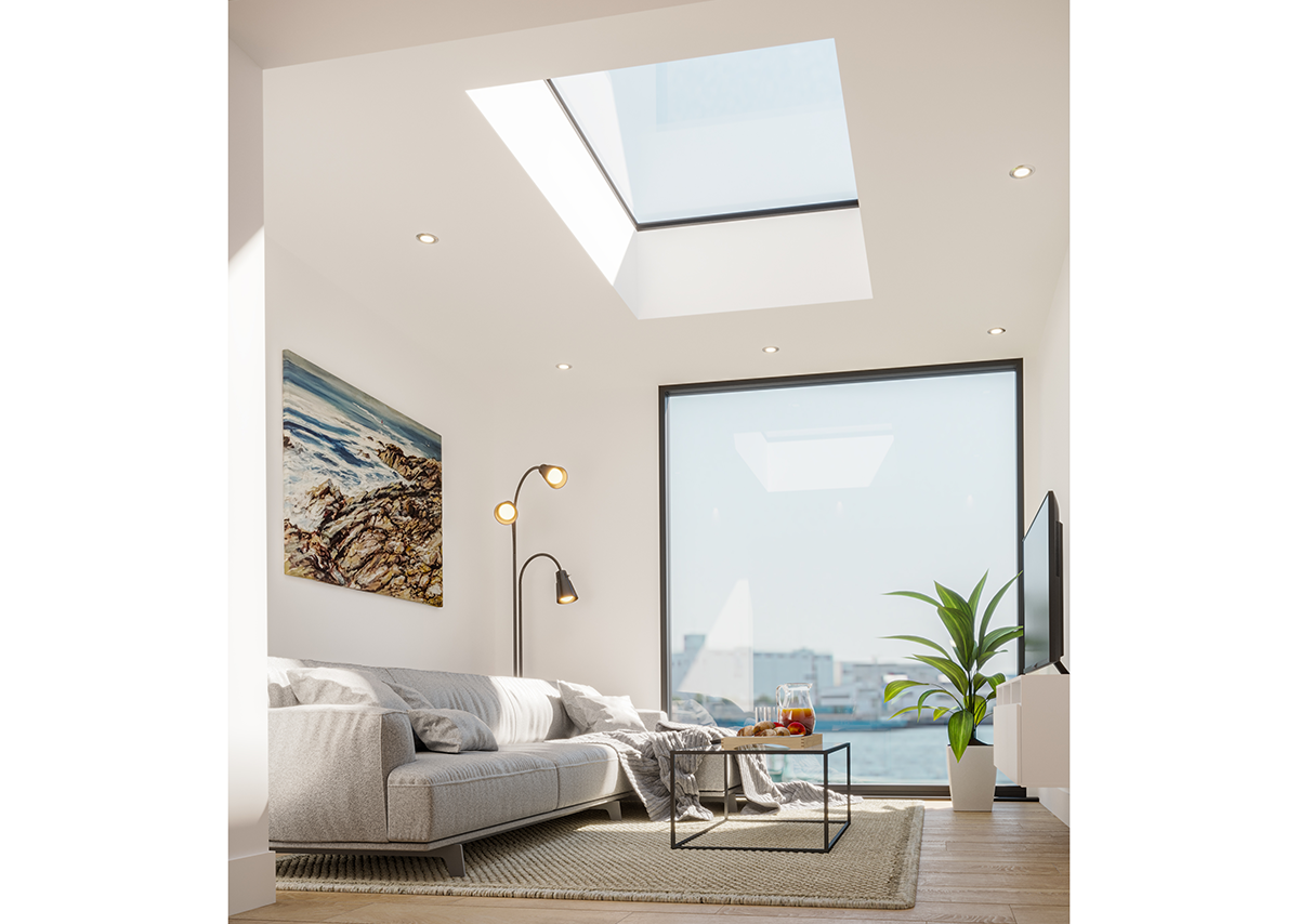 Neo Advance: No unsightly fixings and a concealed motor mean clean, contemporary lines.