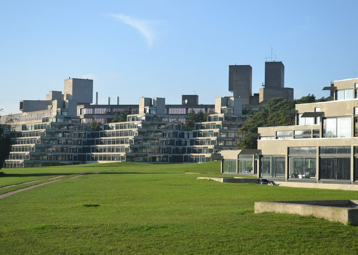 University of East Anglia's ziggurat.