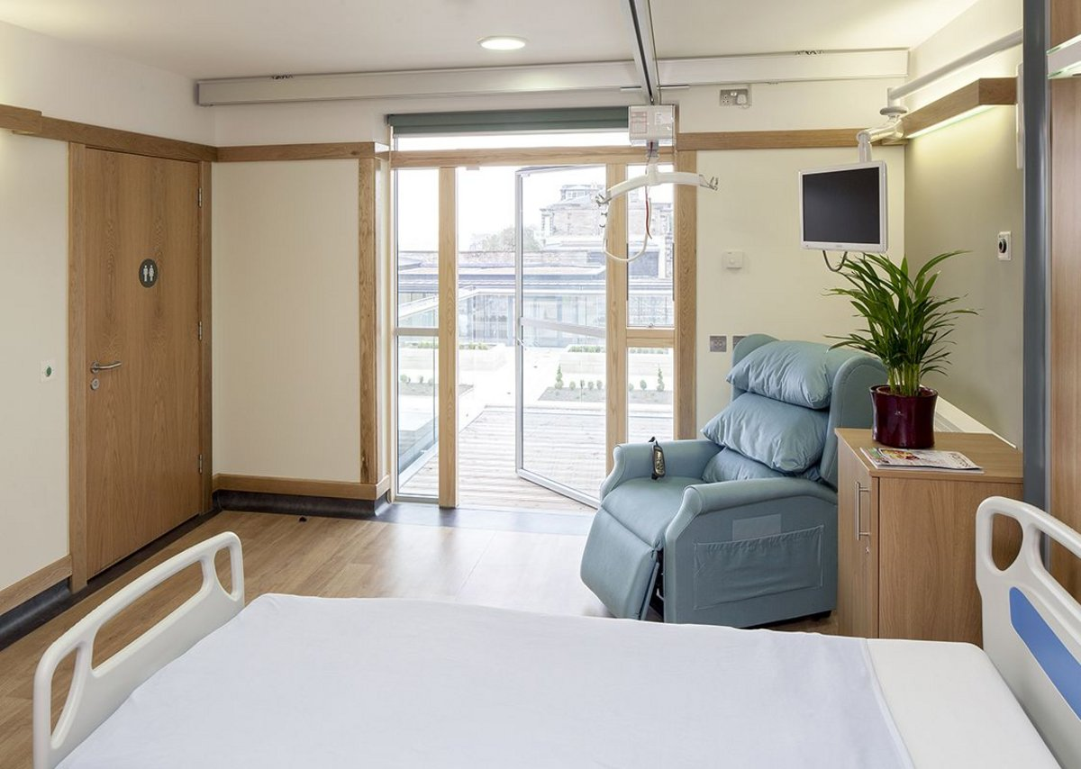 Balancing technical requirements and quality of life in the new single occupancy rooms.