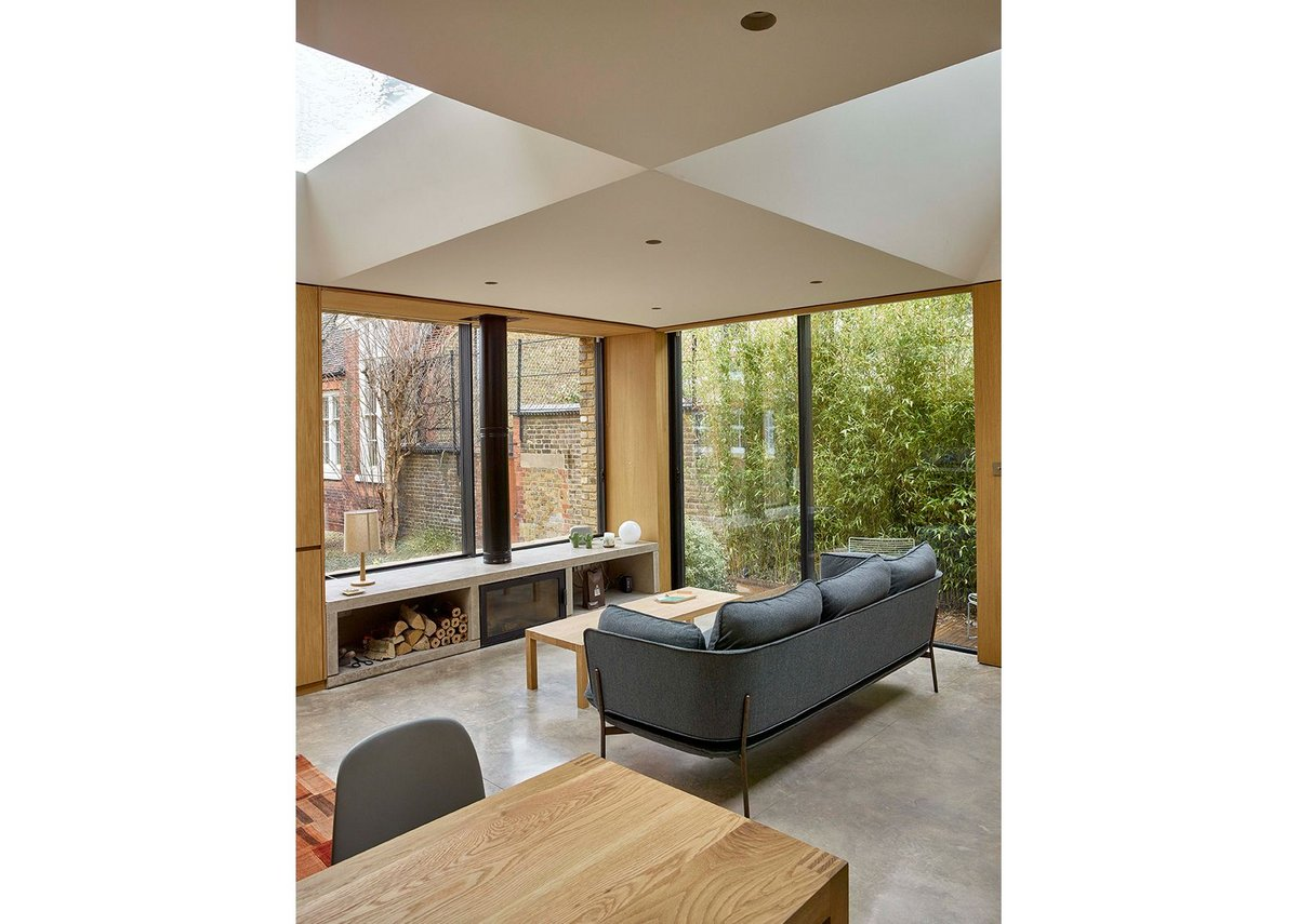 Hidden House, Clerkenwell by Coffey Architects.