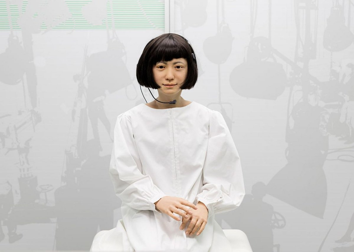 Kodomoroid, a Japanese android who reads the news.