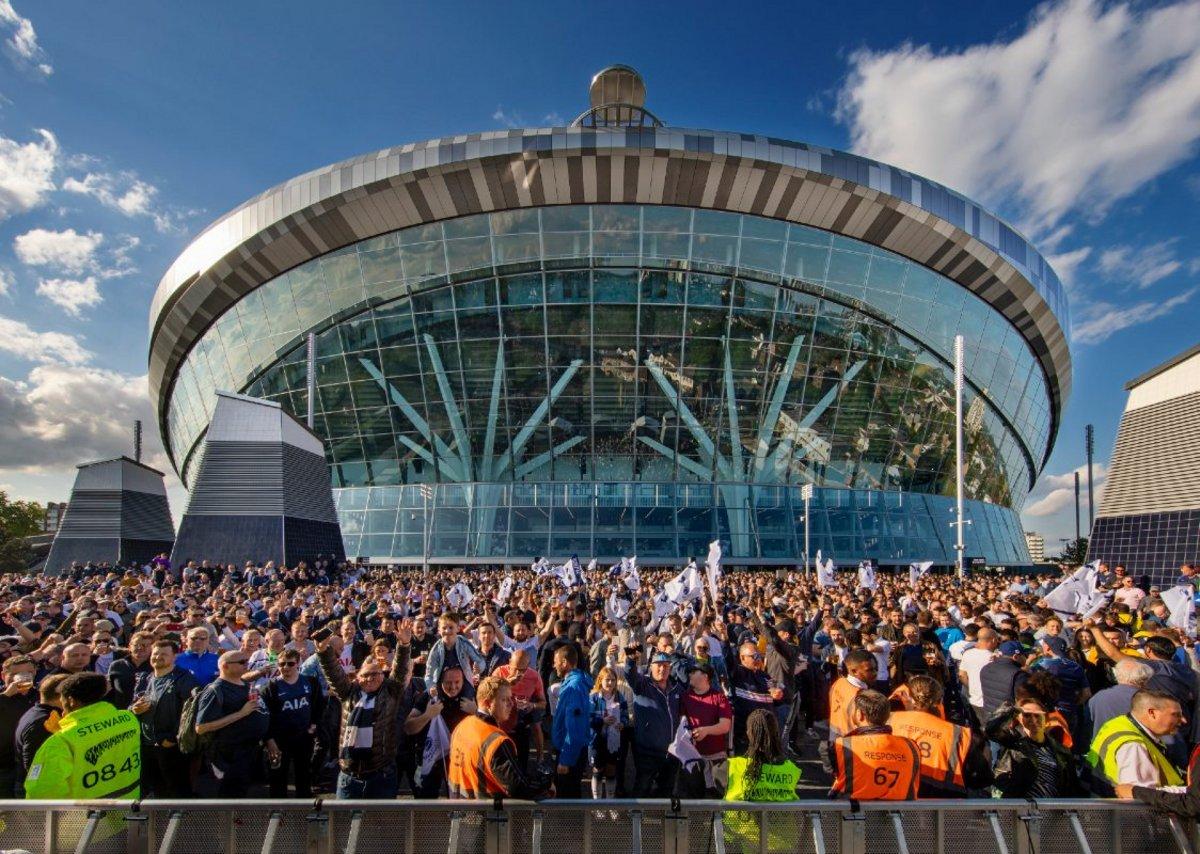 Tottenham Hotspur Stadium, Tottenham.