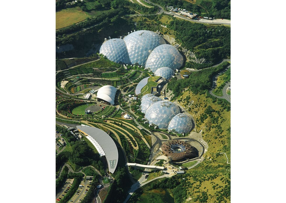 The Eden Project, Cornwall, United Kingdom.