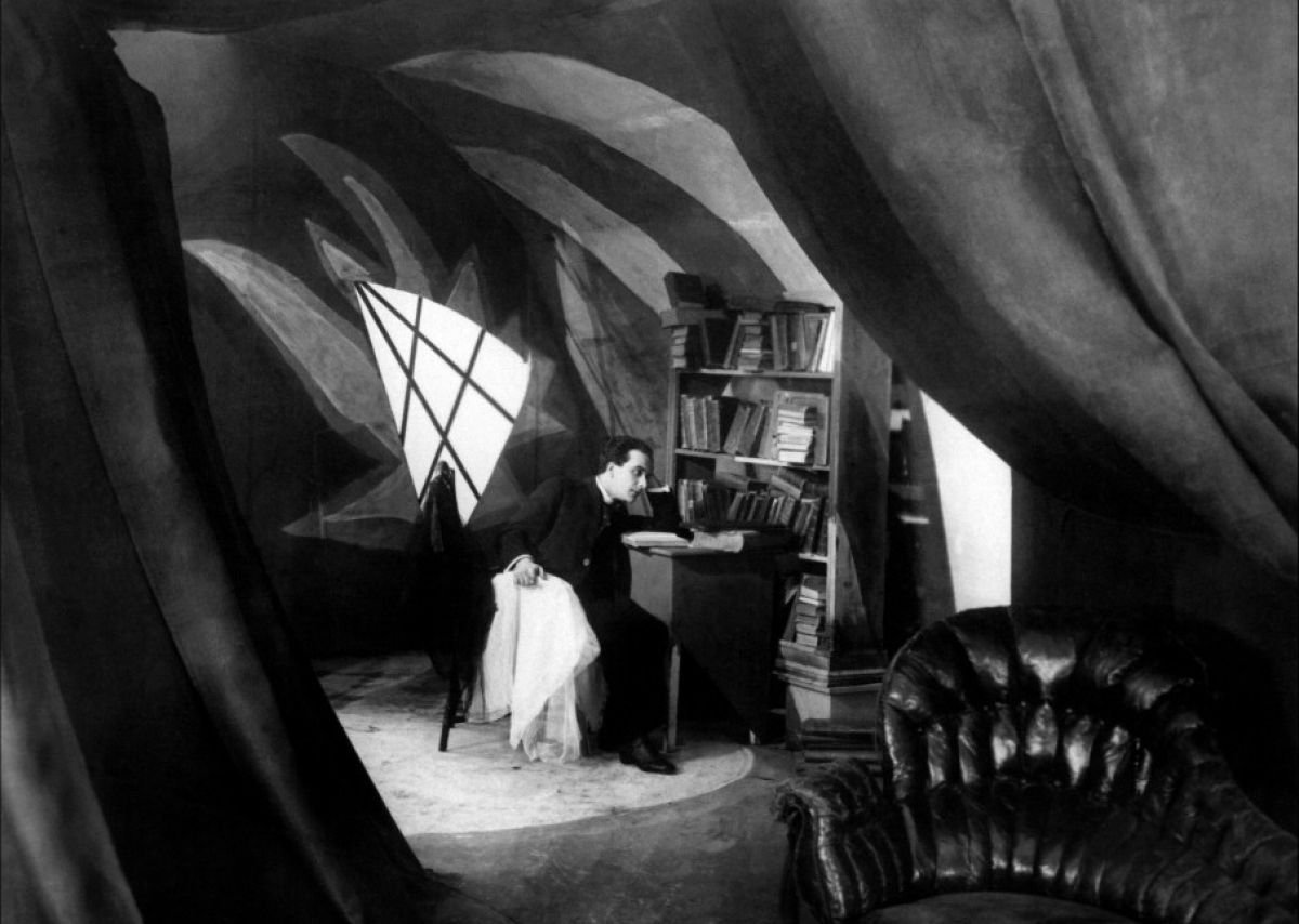 Anxiety interior; the Cabinet of Dr. Caligari.