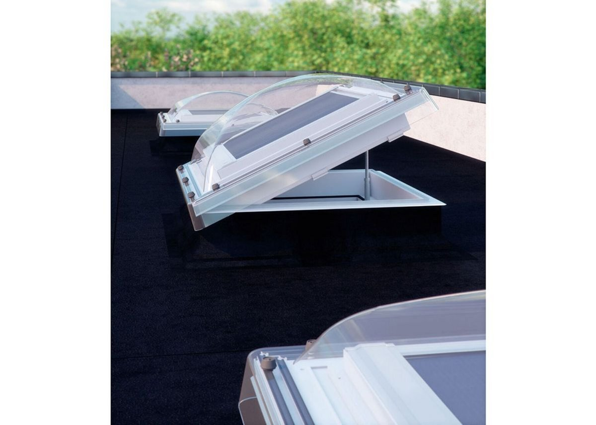 Fakro Type C roof lights.
