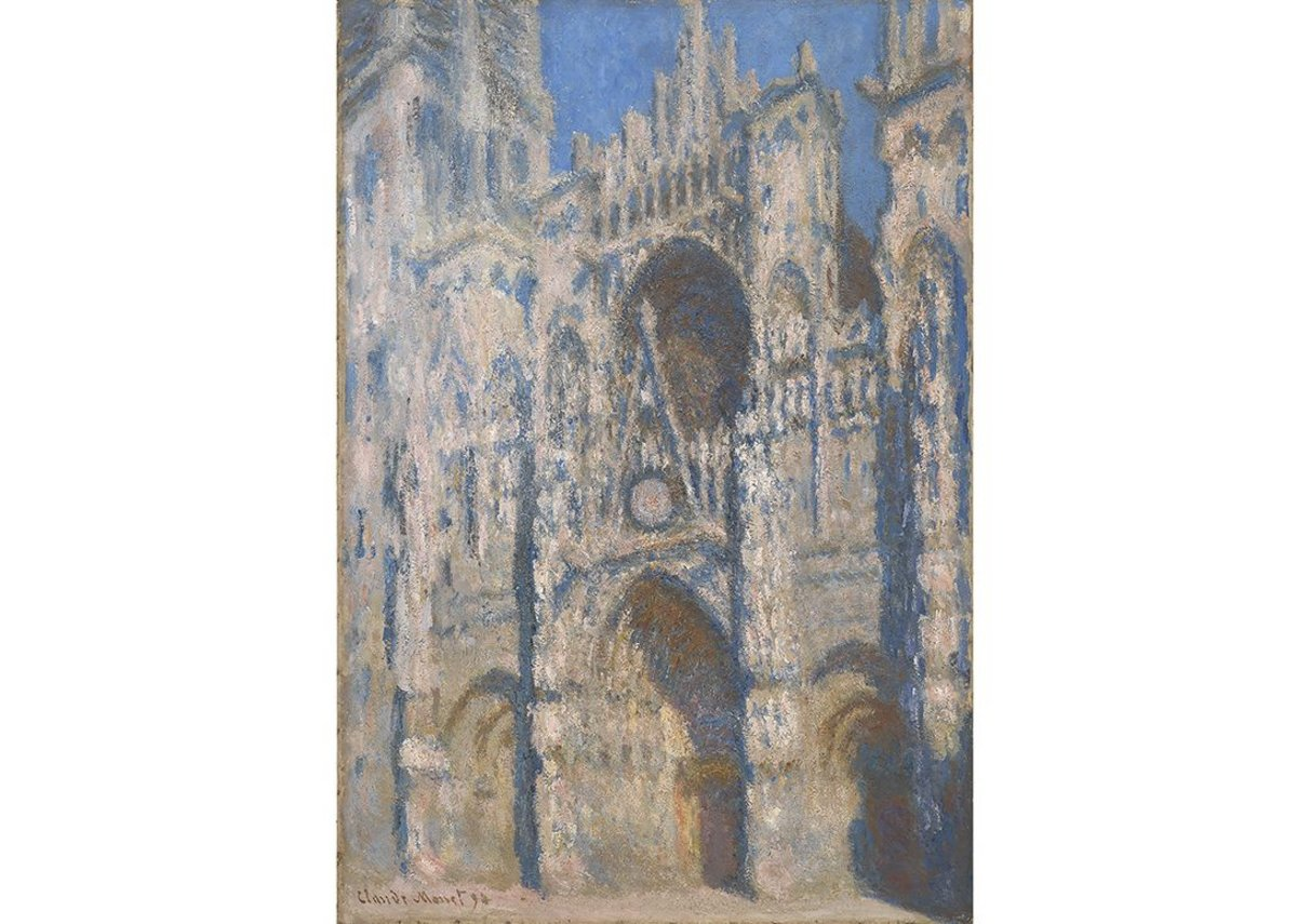 Claude Monet, Rouen Cathedral, 1894. Private collection