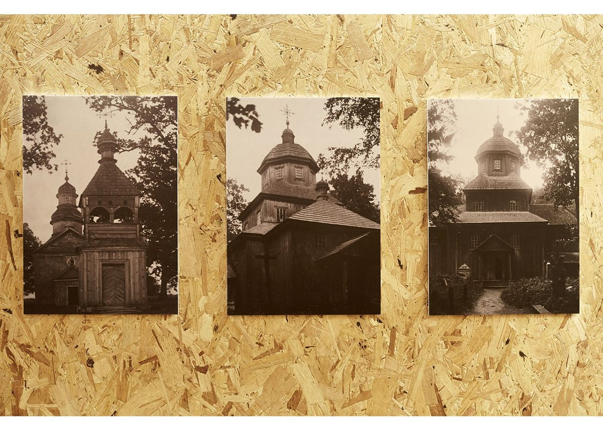 Rare photographs of the demolished authentic 18th century Baroque wooden churches in Belarus.