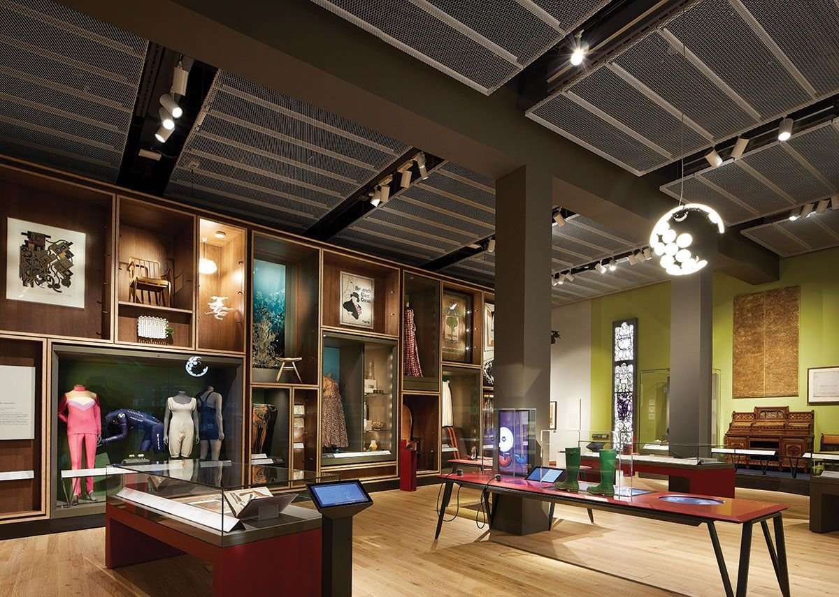 Scottish Design Gallery by ZMMA – nicely done but museum black box spaces could be anywhere.