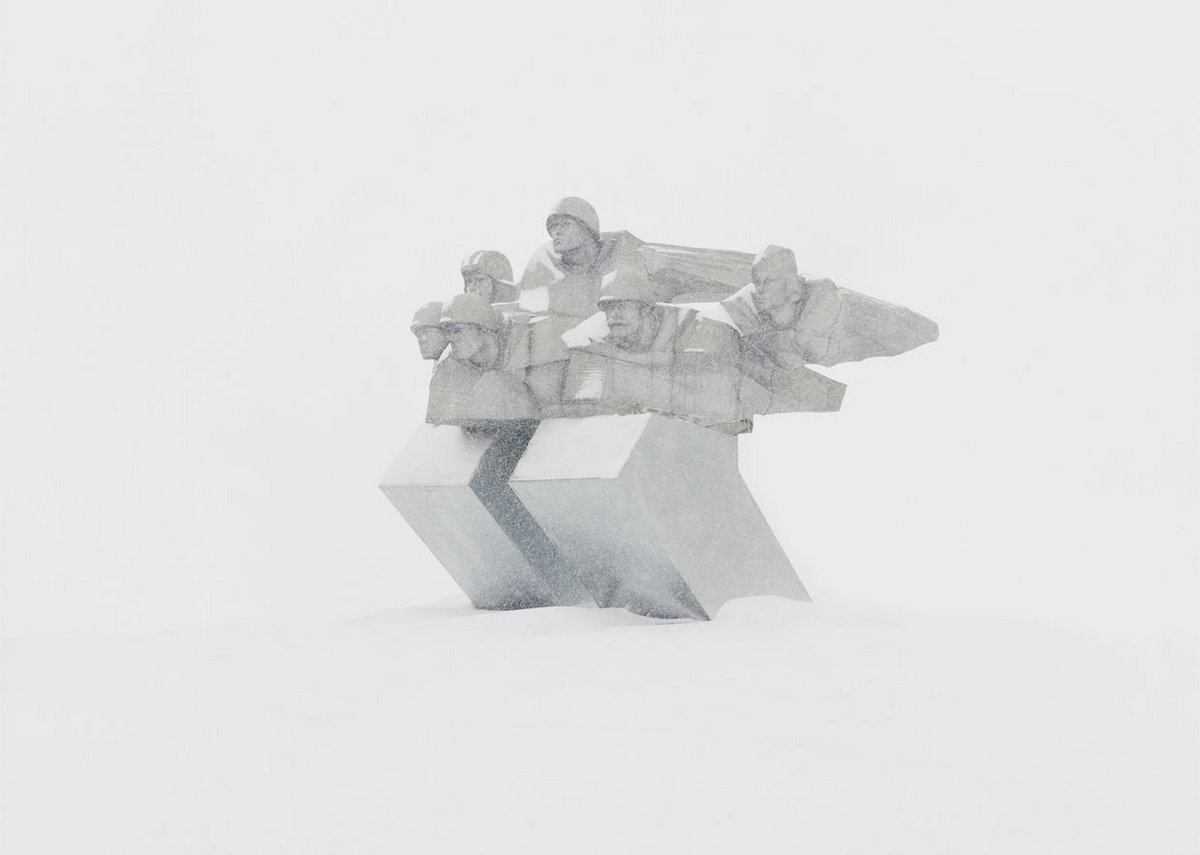 Danila Tkachenko, Memorial on a deserted nuclear station. Russia, Voronezh region, 2015.  Courtesy of the artist