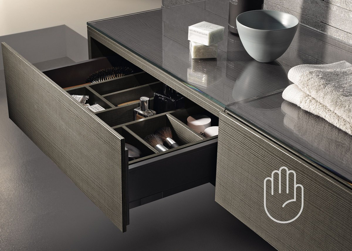 Geberit Xeno² bathroom furniture.