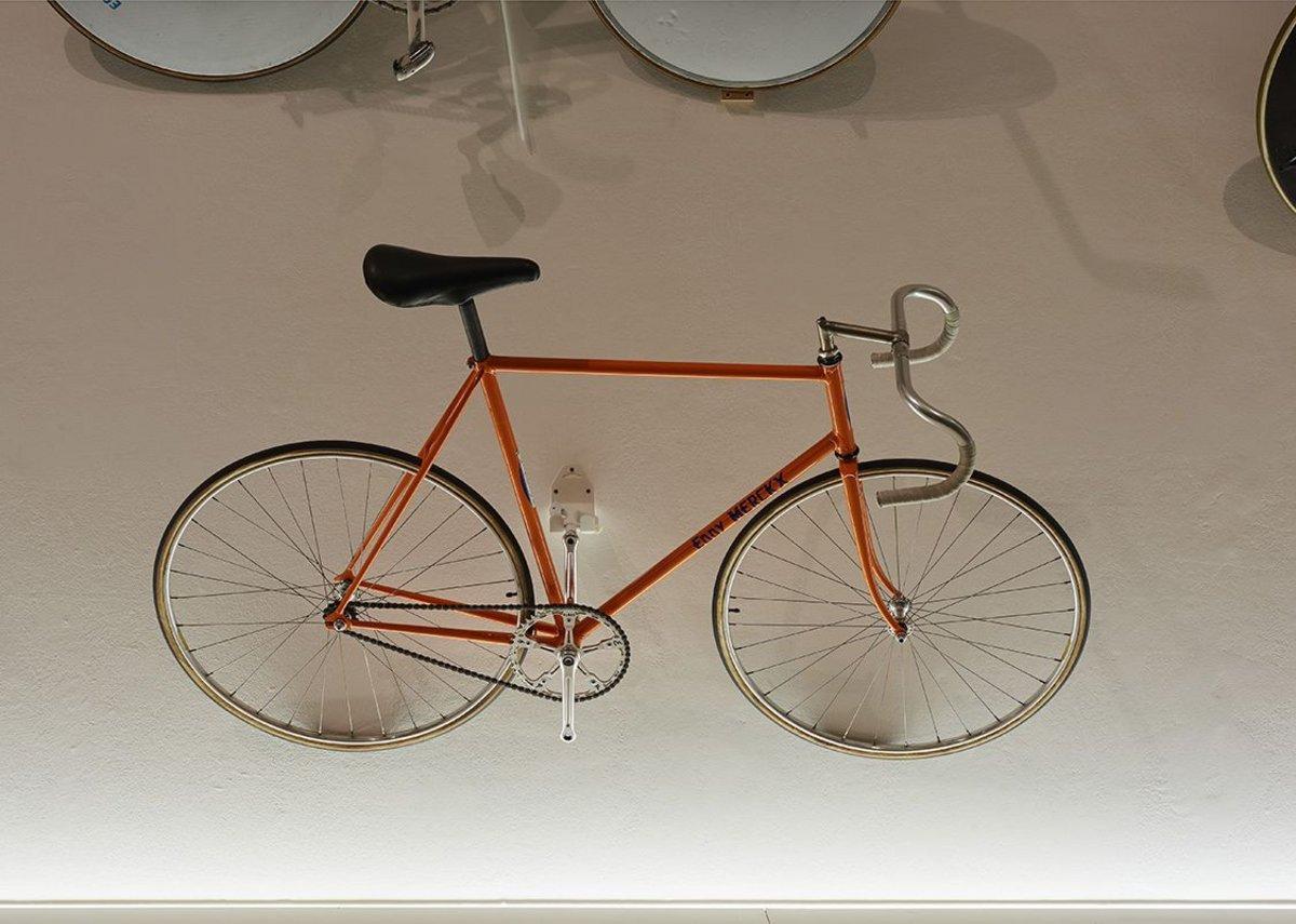 Eddie Merckx Hour record bike from 1969.